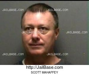 SCOTT MAHAFFEY mugshot picture