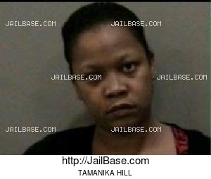 TAMANIKA HILL mugshot picture