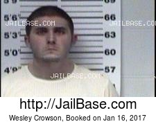 Wesley Crowson mugshot picture