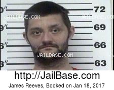 James Reeves mugshot picture