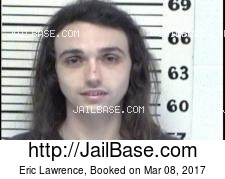 Eric Lawrence mugshot picture