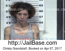 Christy Grandstaff mugshot picture
