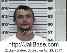 Zackery Walker mugshot picture