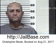 Christopher Beale mugshot picture