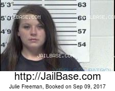 Julie Freeman mugshot picture