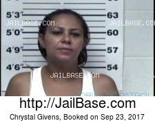 Chrystal Givens mugshot picture