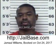 Jamaal Williams mugshot picture