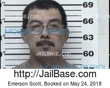 Emerson Scott mugshot picture