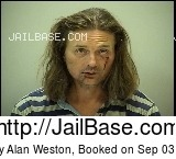 JEREMY ALAN WESTON mugshot picture