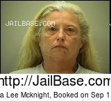 VERONICA LEE MCKNIGHT mugshot picture