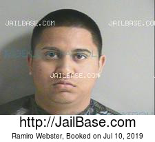 Ramiro Webster mugshot picture
