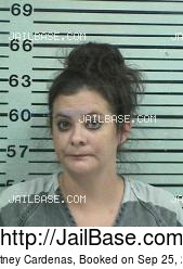 Courtney Cardenas mugshot picture