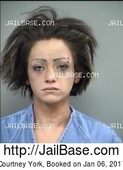 Courtney York mugshot picture