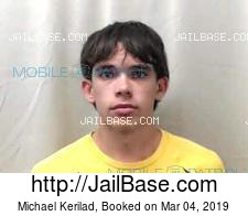 Michael Kerilad mugshot picture