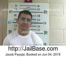 Jacob Payajal mugshot picture