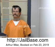 Arthur Wise mugshot picture