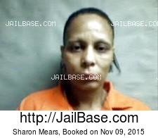 Sharon Mears mugshot picture