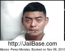 Marcos -Perez-Morales mugshot picture