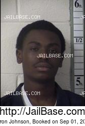 Larron Johnson mugshot picture
