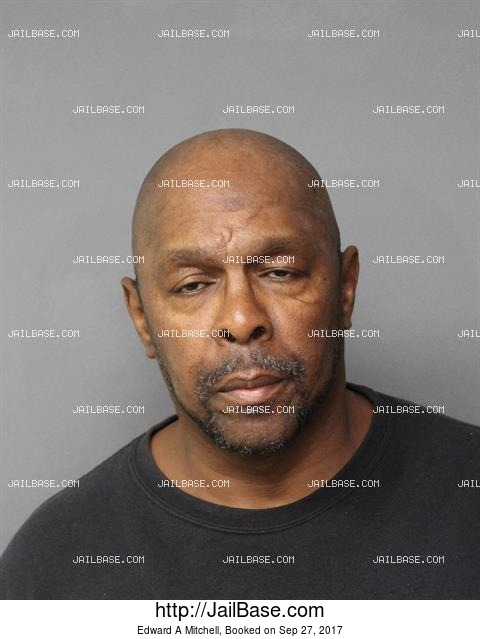 EDWARD A MITCHELL mugshot picture