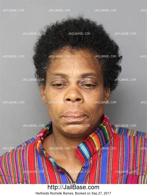HARTHEDIS ROCHELLE BARNES mugshot picture