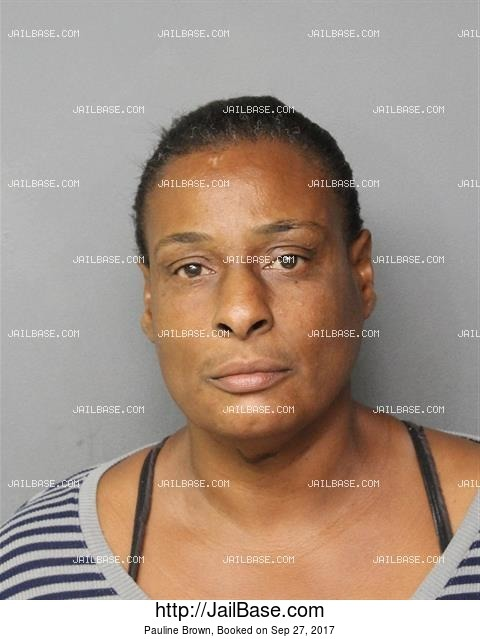 PAULINE BROWN mugshot picture
