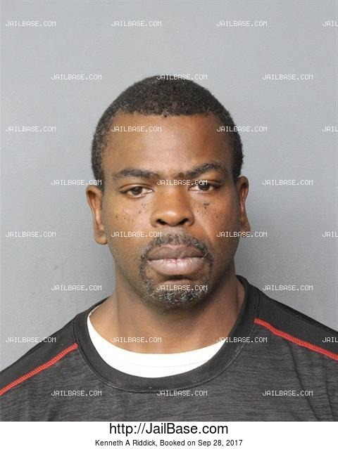 KENNETH A RIDDICK mugshot picture