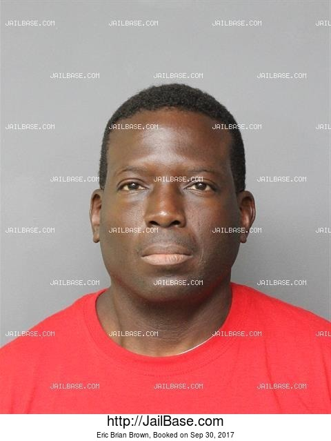 ERIC BRIAN BROWN mugshot picture