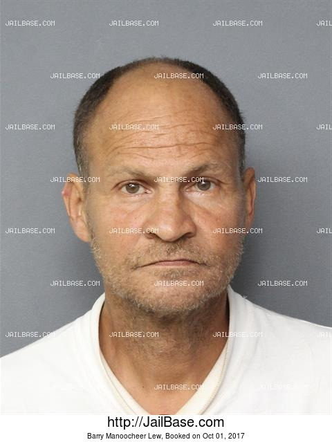 BARRY MANOOCHEER LEW mugshot picture