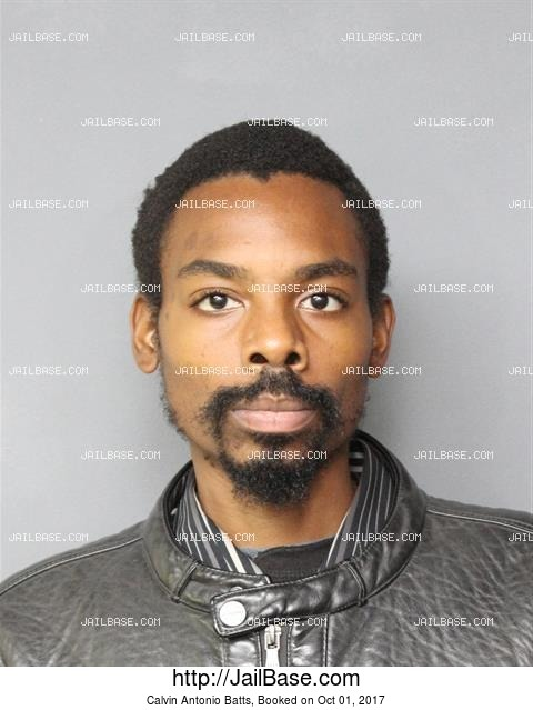 CALVIN ANTONIO BATTS mugshot picture
