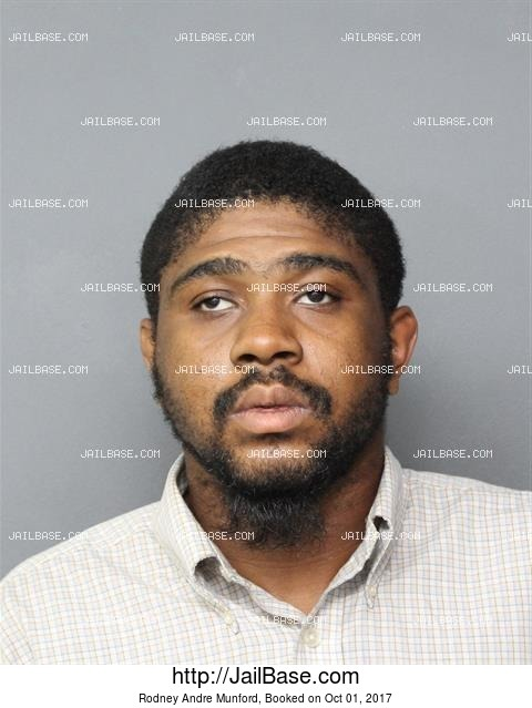 RODNEY ANDRE MUNFORD mugshot picture