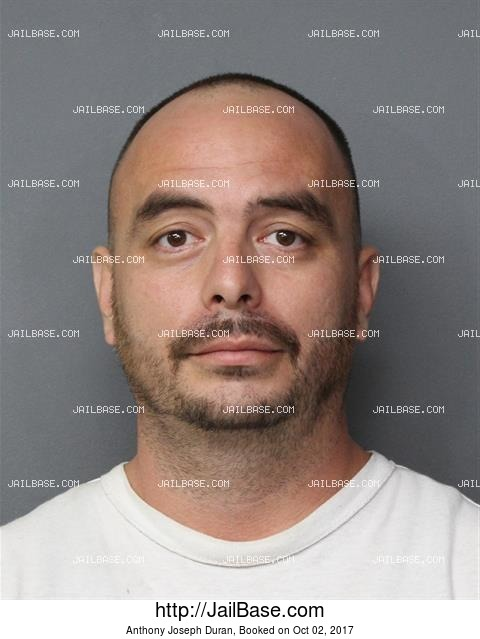 ANTHONY JOSEPH DURAN mugshot picture