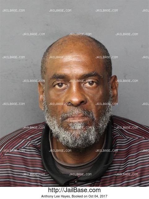 ANTHONY LEE HAYES mugshot picture