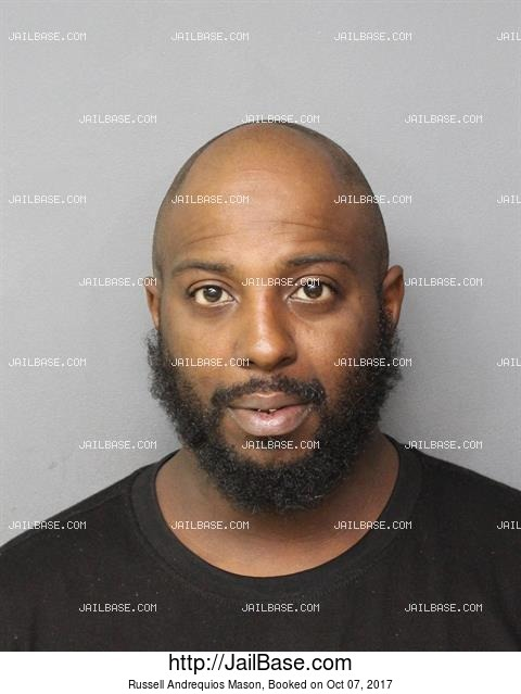 RUSSELL ANDREQUIOS MASON mugshot picture
