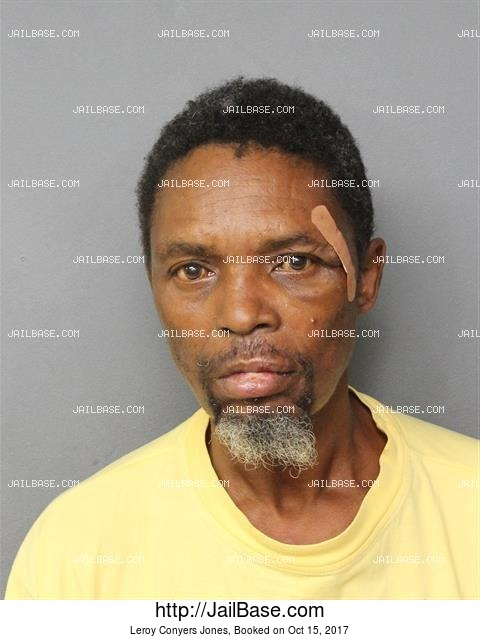 LEROY CONYERS JONES mugshot picture