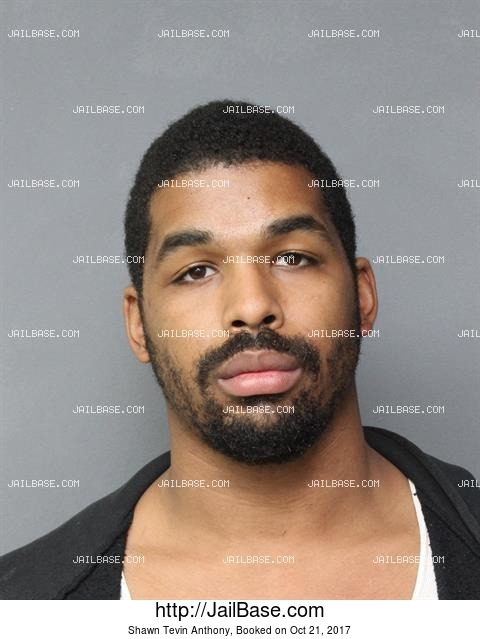 SHAWN TEVIN ANTHONY mugshot picture