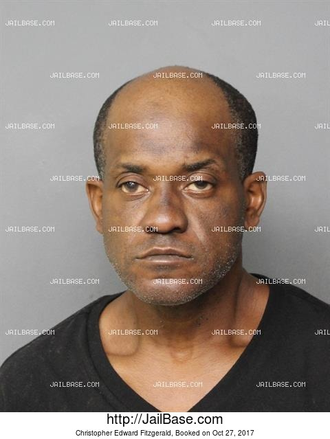 CHRISTOPHER EDWARD FITZGERALD mugshot picture