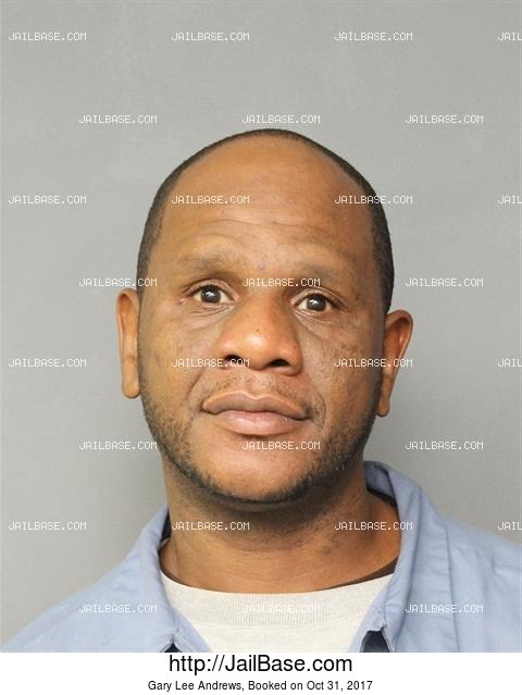 GARY LEE ANDREWS mugshot picture