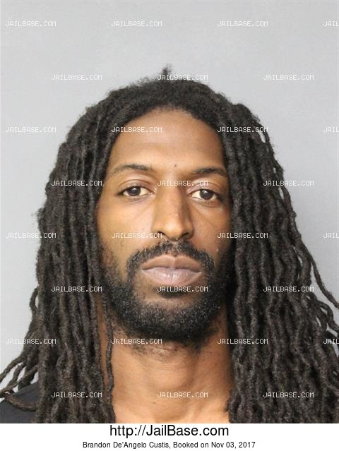 BRANDON DE'ANGELO CUSTIS mugshot picture