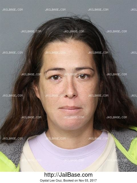 CRYSTAL LEE CRUZ mugshot picture