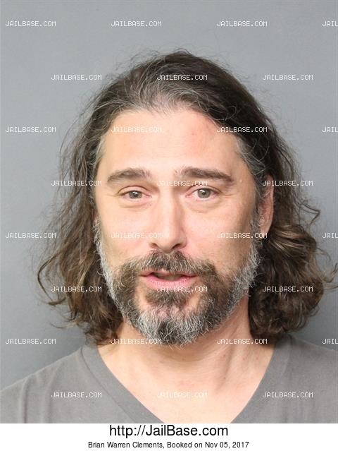 BRIAN WARREN CLEMENTS mugshot picture