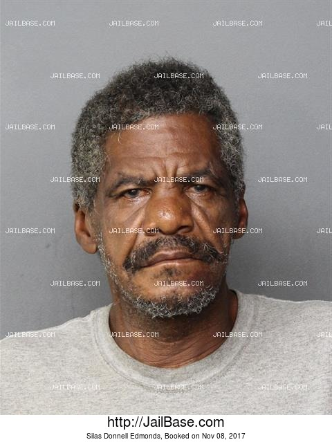 SILAS DONNELL EDMONDS mugshot picture