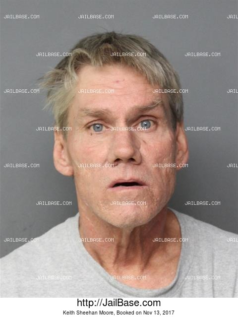 KEITH SHEEHAN MOORE mugshot picture