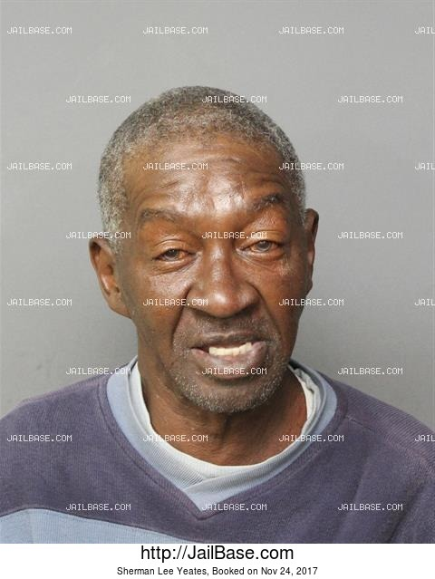 SHERMAN LEE YEATES mugshot picture