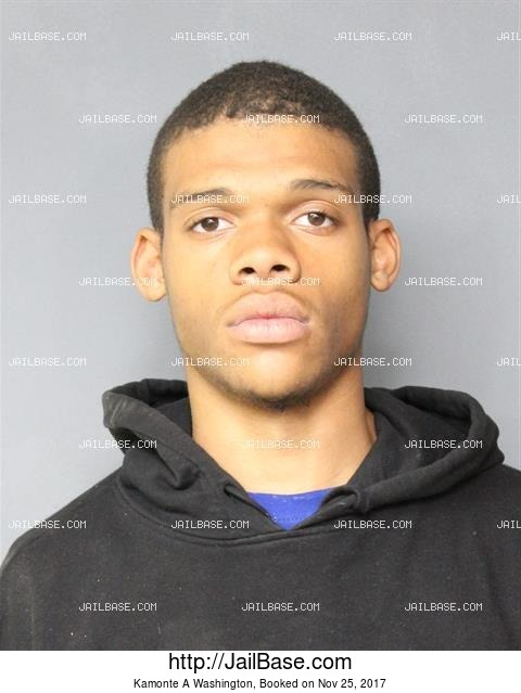 KAMONTE A WASHINGTON mugshot picture