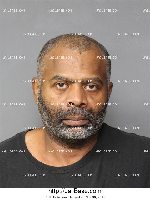 KEITH ROBINSON mugshot picture