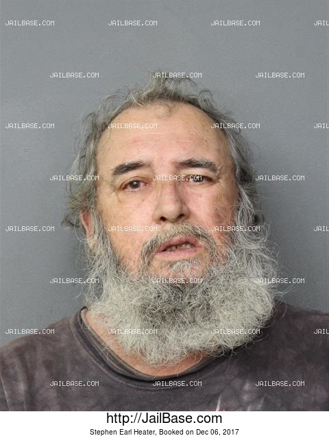 STEPHEN EARL HEATER mugshot picture