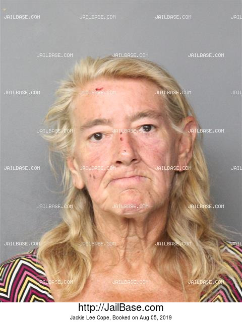 JACKIE LEE COPE mugshot picture