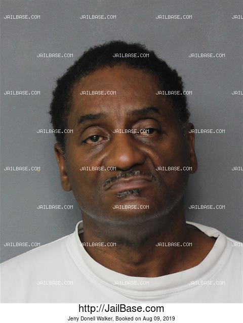 JERRY DONELL WALKER mugshot picture