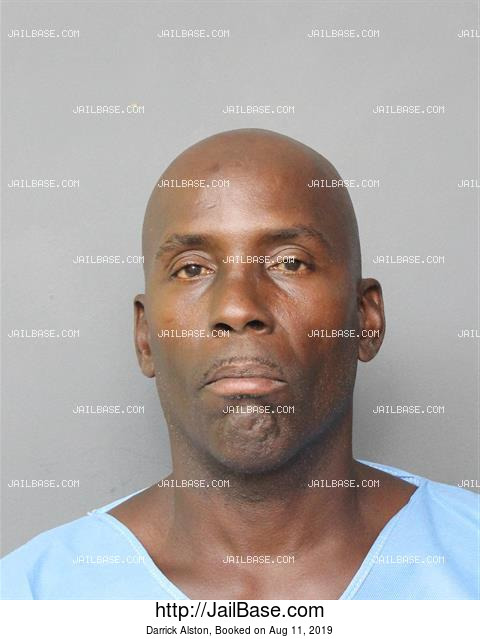 DARRICK ALSTON mugshot picture